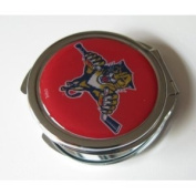 Florida Panthers Ladies Compact Mirror w/ Floral Design
