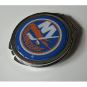 New York Islanders Ladies Compact Mirror w/ Floral Design