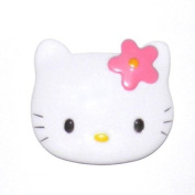 Die Cut Kitty Face Compact Mirror
