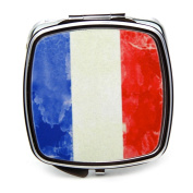 French Flag Compact Mirror
