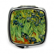 Irises by Van Gogh Compact Mirror