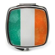 Irish Flag Compact Mirror