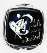 Pepe le Pew Looney Tunes Compact Mirror