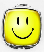 Smiley Face Compact Mirror