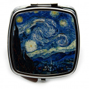 Starry Night by Van Gogh Compact Mirror
