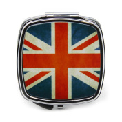 Union Jack Flag Compact Mirror