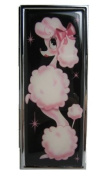"""Pink Poodle - """" Glamorous Me"""" French Poodle Vanity Compact Mirror Case"""
