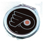 Philadelphia Flyers Ladies Compact Mirror w/ Floral Design