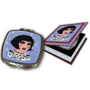 Luckie Street Mirbgali Bad Girl Couture Compact Travel Mirror Ali