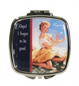 Compact Mirror Vintage Vixen