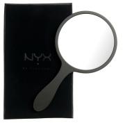 NYX Handheld Mirror, Black/White