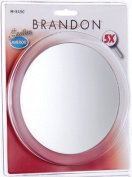 Brandon Femme 5X Suction Cup Mirror, 15.2cm Clam Shell