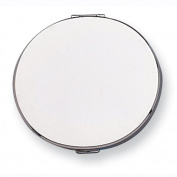 Silver-Tone Compact