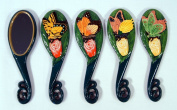 Wholesale Pack Handpainted Assorted Butterfly Insect Handheld Mirror
