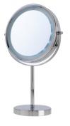 Danielle Enterprises Vanity Mirror 5x, Chrome, 21.6cm X 40.6cm High