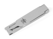 Extra Flat Folded PROFINOX High Polished Nail Clippers by Malteser. Made in Germany, Solingen