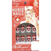 Sexy Nurse Fake Nails