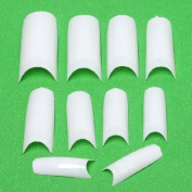 500x Wholesale White French False Acrylic Nail Tips Art