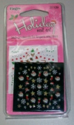 Fing'rs Holiday Nail Art Stick on Decals # 31109