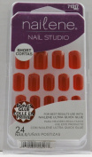 Nailene Nail Studio Nails - Red (Short) 71317