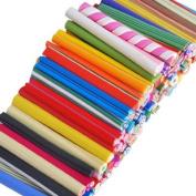 100 X Nail Art Fimo Canes Rods Sticks Sticker Decor New