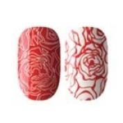 Ring Around the Roses Dashing Diva Design Fx Nail Appliqués