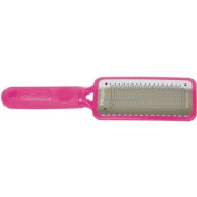 THE ORIGINAL Microplane Colossal Foot File Pedicure Rasp Pink