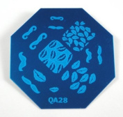 Nail Art Stamping Image Plate OB28