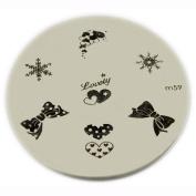Konad Stamping Nail Art Image Plate - M59