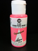 Aeroflash Colour (Opaque Pearl Orange E-228) 1 Bottle of 35ml From Holbein Japan