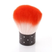 Nail Art Dust Brush Cosmetic Cheek Make up Cleaner NEW Red Bs-30-red