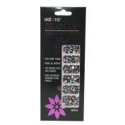 Adoro Glam up Instant Nail Wrap #001-2012/03