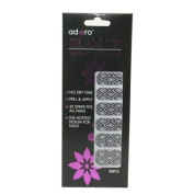 Adoro Glam up Instant Nail Wrap #001-2012/07