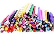 MASH Premium MASH 100 Pc Nail Art Nailart 3d Manicure Design Sticks Rods Stickers Gel Tips
