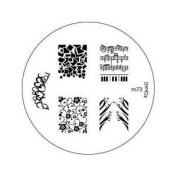 Konad Stamping Nail Art Image Plate - M73