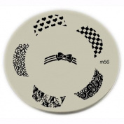 Konad Stamping Nail Art Image Plate - M56