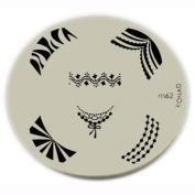Konad Stamping Nail Art Image Plate - M62