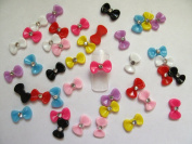 Nail Art 3d 40 Mix BOW /RHINESTONE for Nails, Cellphones 1.2cm*.5cm