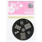 Konad Stamping Nail Art Image Plate S6