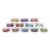 MASH Premium Nail Art Nailart Manicure Striped Glitter