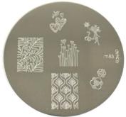 Konad Stamping Nail Art Image Plate - M83