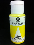 Aeroflash Colour (Lemon Yellow E-013) 1 Bottle of 35ml From Holbein Japan
