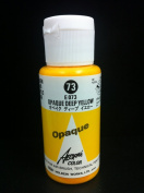 Aeroflash Colour (Opaque Deep Yellow E-73) 1 Bottle of 35ml From Holbein Japan