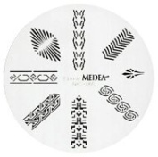 Design Wheel - Egyptian Nail Master Stencil Shield