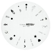 Design Wheel - Hot Wheel Nail Master Stencil Shield