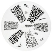 Design Wheel - Jungle Print Nail Master Stencil Shield