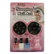 Konad Set Starter Kit for Stamping Nail Art