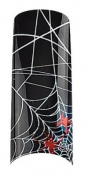 Cala Professional Holiday Design Airbrushed Nail Tips in # 87-738+ Free A-viva Eco Nail File