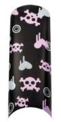 Cala Professional Holiday Design Airbrushed Nail Tips in # 87-741 + Free A-viva Eco Nail File