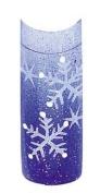 Cala Professional Holiday Design Airbrushed Nail Tips in # 87-784 + Free A-viva Eco Nail File